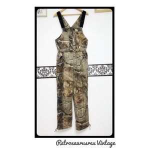 Russell Outdoors Camouflage Coveralls Pants Large